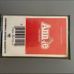 Annie cassette tape original cast recording songs